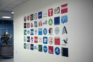 DFJ Wall Logos
