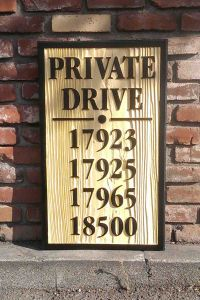 Private Drive Sandblast