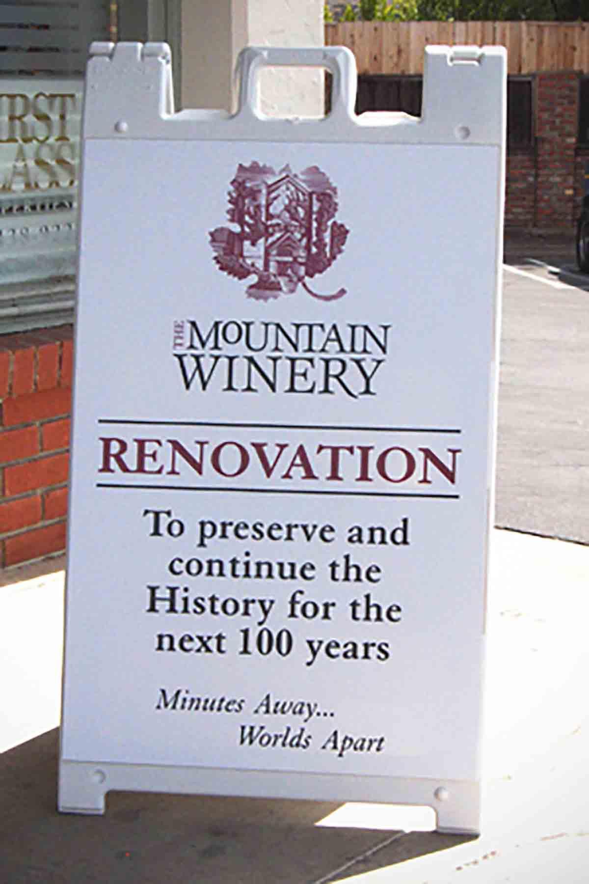 Mountain Winery Aframe