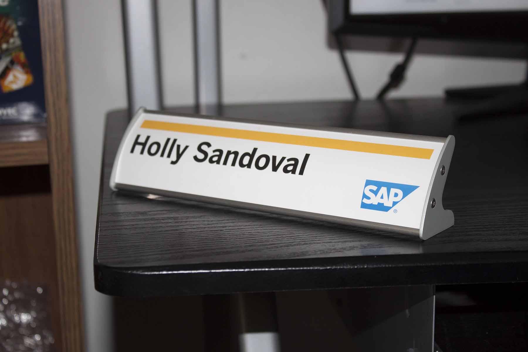 SAP Nameplate