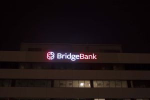 Bridge Bank Building- Night