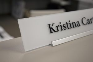 KW Nameplate